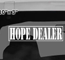 Win Decal- Hope Dealer