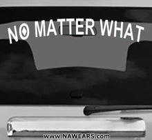 Win Decal - No Matter What