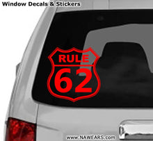 Win Decal - AA Rule 62 - nawears