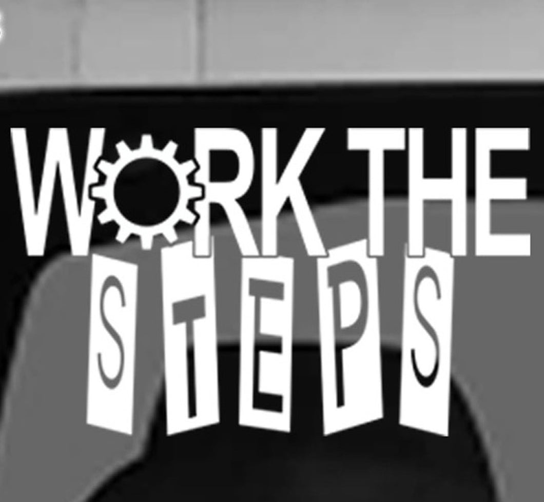 Win Decal - Work The Steps