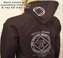 Hoodie - NO MATTER WHAT  CLUB - Black