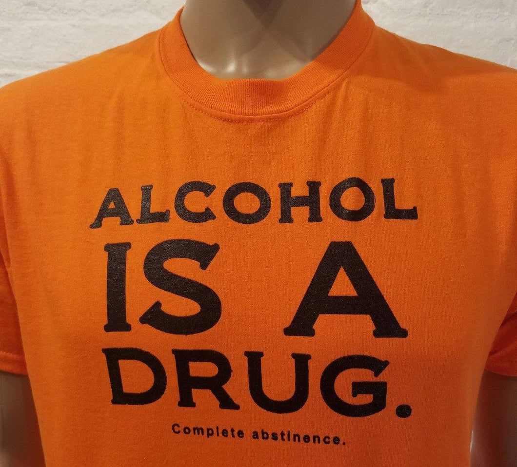 Alcohol  Is A D -bc - Orange T's