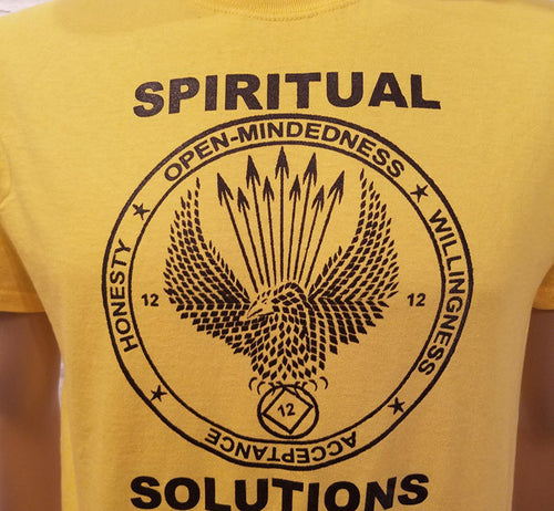 Spiritual Solutions - bc - Yellow T's