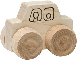 Mini-Monster Car - Made in USA : Push And Pull Baby Toy