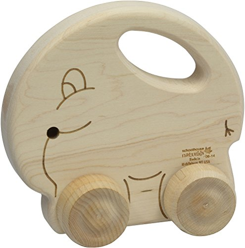 Push N Pull Elephant - Made in USA