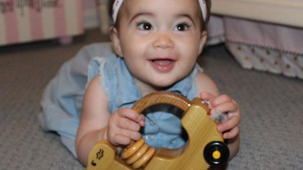 Push-and-Pull Wooden Baby Toy
