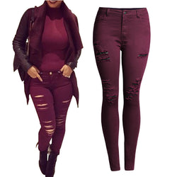 The Onyx Denim Jeans - Bold and Beautiful