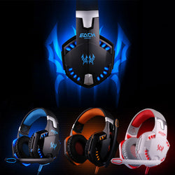 1PC USB Stereo Bass LED Gaming Headphone Headset for PC - Bold and Beautiful