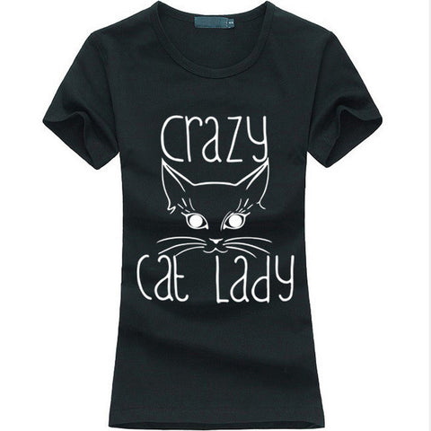 Crazy Cat Lady Funny Slogan - Bold and Beautiful