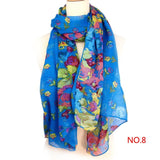 Mix Beauty Color Style Girls Women's Ladies Large Long Soft Neck Scarf Warm Wrap Scarves Shawl - Bold and Beautiful