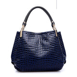 SAICHENG Alligator Style PU Sequined Handbag - Bold and Beautiful