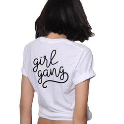 Girl Gang Slogan - Bold and Beautiful
