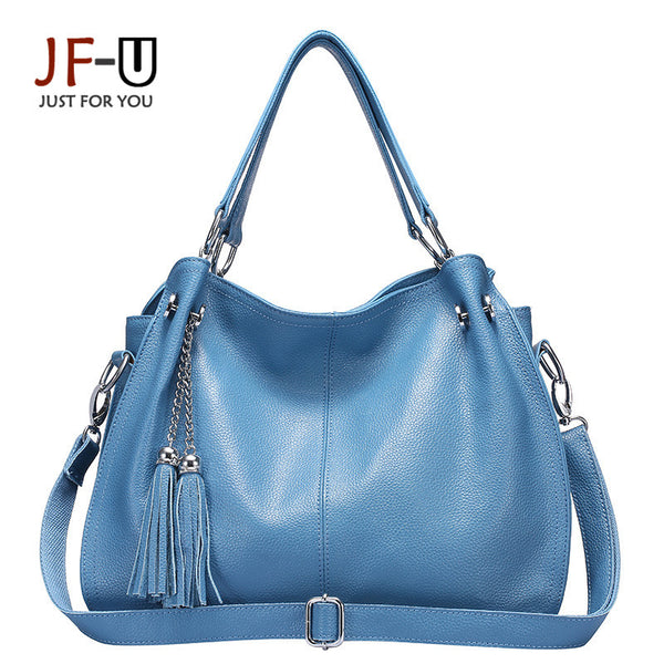 Genuine Leather Bag Female Bags Handbags Women Famous Brands Shoulder Genuine Leather Bags Women Bag Female Bolsa Feminina - Bold and Beautiful