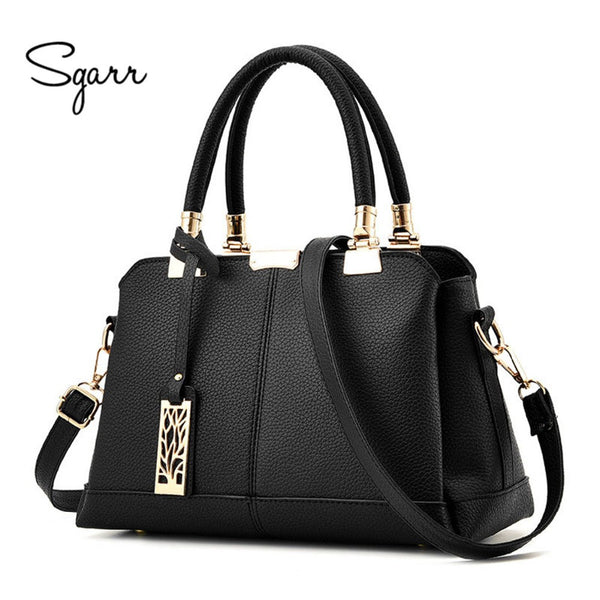 SGARR Brand Luxury Women Handbags Famours Designer PU Leather Crossbody Bag 2017 New Fashion Female Messenger Bags Shoulder Bags - Bold and Beautiful