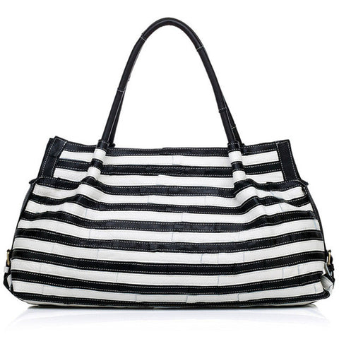 Genuine leather bags handbags women famous brands black and white luxury women shoulder messenger bags designer high quality 4 - Bold and Beautiful