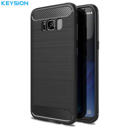 KEYSION Cover for Samsung Galaxy S7/S7 Edge/S8/S8 Plus - Bold and Beautiful
