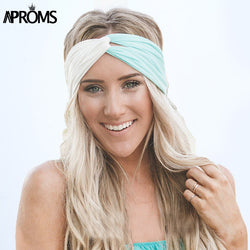 Twisted Stretch Hairband Colorful Headband - Bold and Beautiful