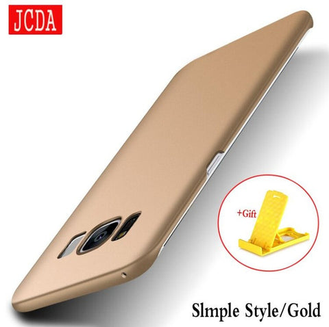 JCDA Brand For Samsung Galaxy S8 s6 s7 edge plus S4 S5 NOTE 3 4 5 C5 C7 9 Mobile phone case Silicone cover Hard Frosted PC Back - Bold and Beautiful