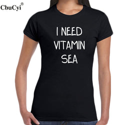I Need Vitamin Sea Slogan - Bold and Beautiful