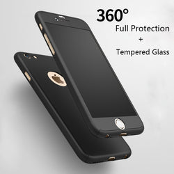 Matte Cases For iPhone 6/5/5s/6s Plus/7 Tempered Glass - Bold and Beautiful