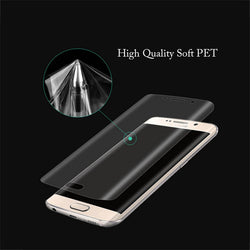 3D Curved Cambered Full Coverage Soft PET Film Screen Protector For Samsung Galaxy S8 Plus (Not Tempered Glass) Clear HD Cover - Bold and Beautiful