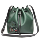 Genuine Leather Bags Ladies Real Leather Bags Handbags Women Famous Brands Designer Bucket Bag High Quality Bag For Women Bolso - Bold and Beautiful