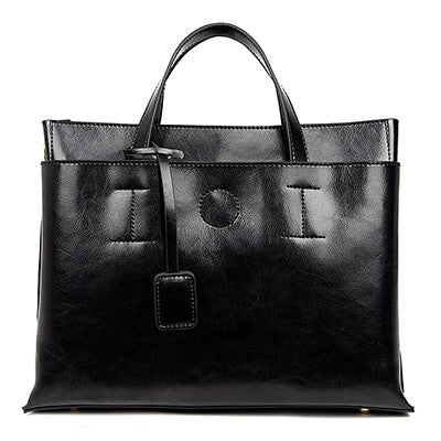 SAICHENG Genuine Leather Bag Women Bags Handbags Women Famous Brands Designer Handbags High Quality Real Cow Shoulder Bag Ladies - Bold and Beautiful