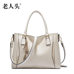 LAORENTOU 2016 New bags handbags women famous brands women leather bag fashion quality women leather huandbags shoulder bag - Bold and Beautiful