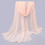 Silk Chiffon Luxury Fashion Scarf - Bold and Beautiful