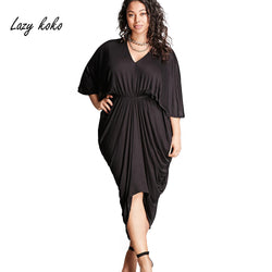 The Falsetto Half Sleeve Pleated Dress - Bold and Beautiful