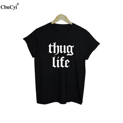 Thug Life Slogan - Bold and Beautiful