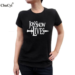 Jon Snow Lives Slogan - Bold and Beautiful