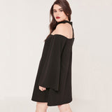 The Acurza Off Shoulder Long Sleeve Summer Dress - Bold and Beautiful