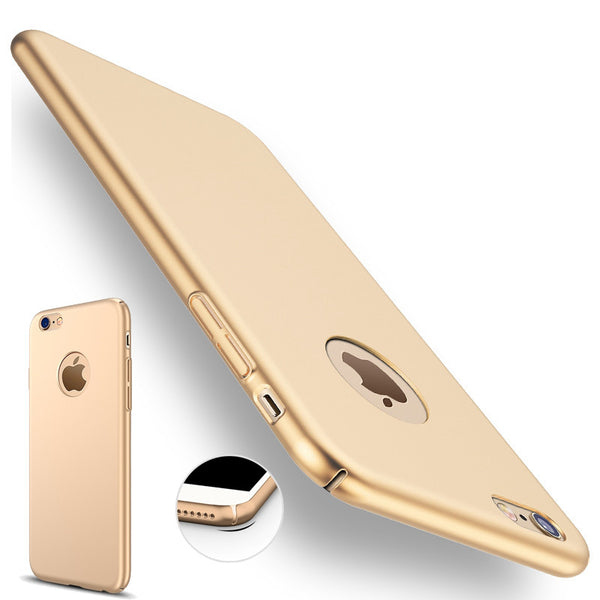 for iphone 7 plus iphone 7 Case Gold Black Luxury Thin Back Hard Armor Case for Apple iphone 6 6S 5 5S SE Cover Logo Accessories - Bold and Beautiful