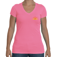 Ladies Sporty V-Neck