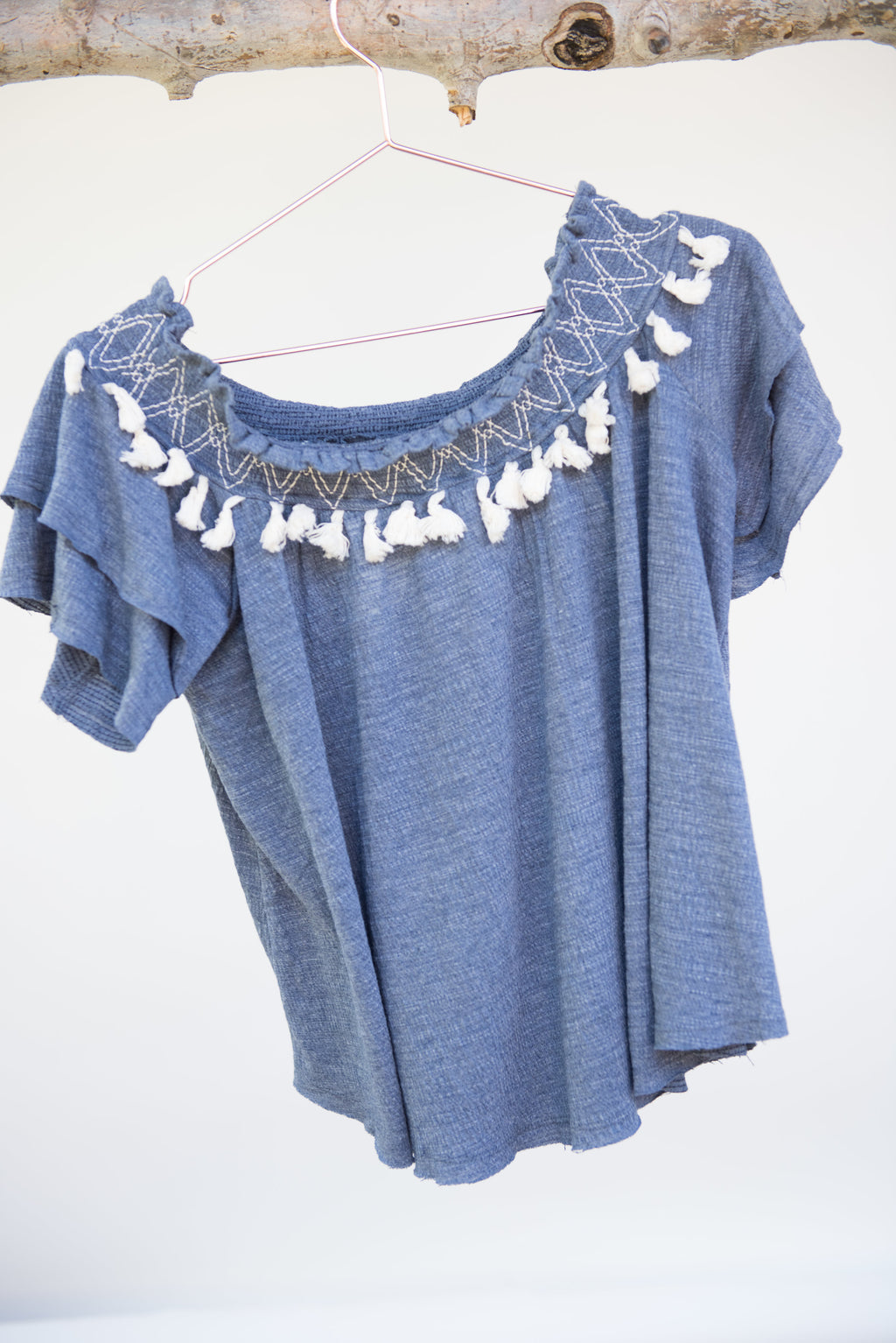 Elk Rapid Tassel Top