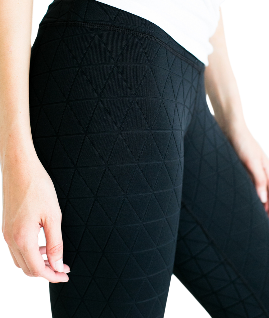 Quilted pocket legging