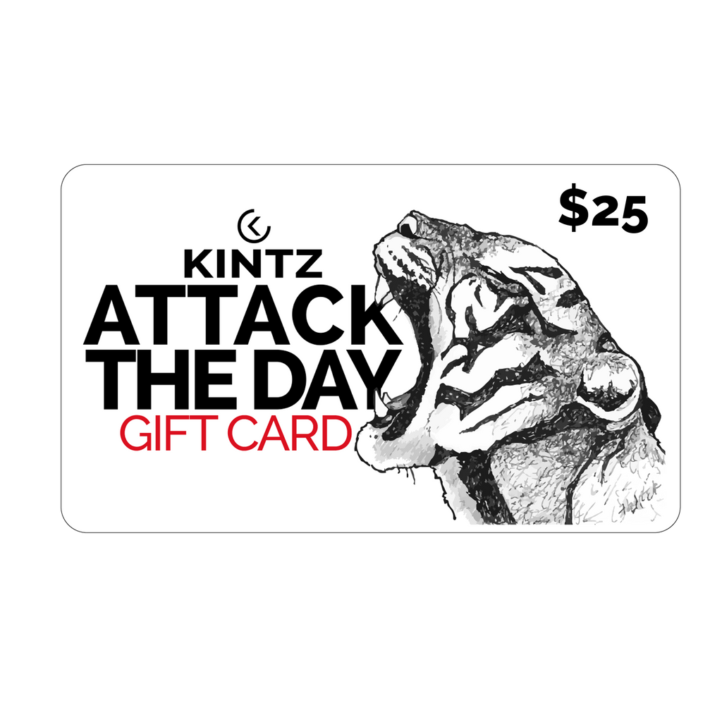 $25 Attack the Day Gift Card
