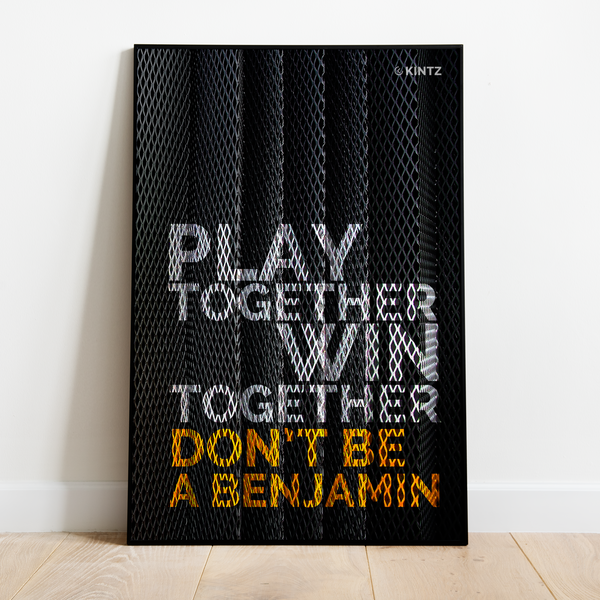 Poster | Don't Be A Benjamin