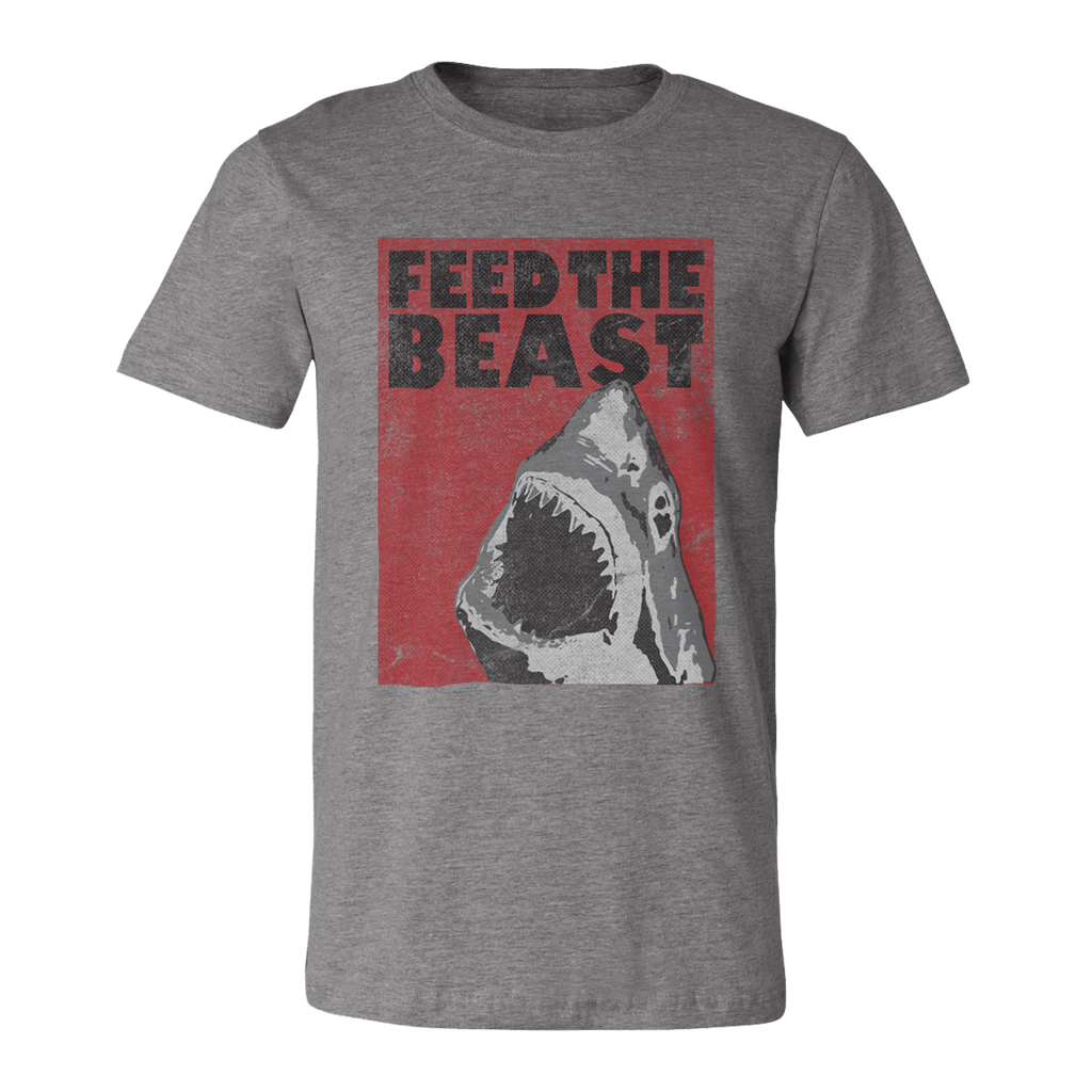 Feed the Beast Shark. Unisex T-Shirt