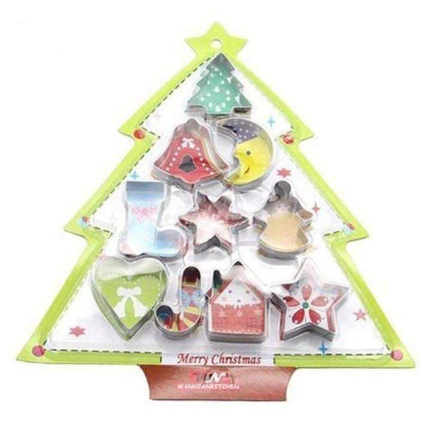 10 Christmas Tree Baking Molds: Bakeware- Shop MIXXCI