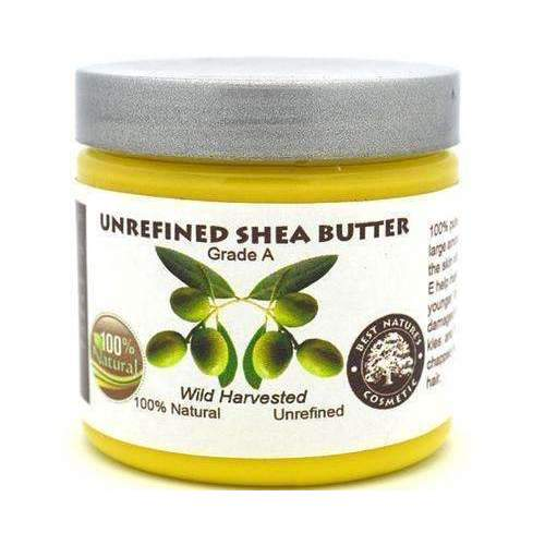 100% Pure Unrefined Shea Butter Yellow.: Body Moisturizers- Shop MIXXCI