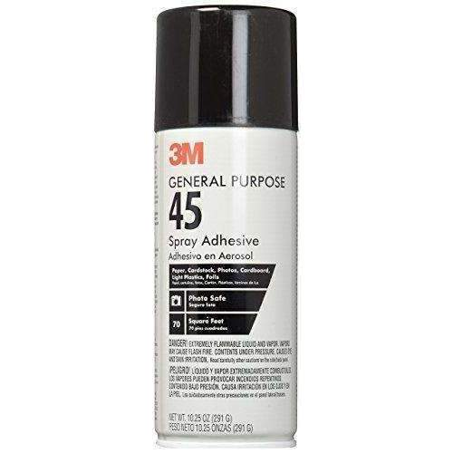3M General Purpose 45 Spray Adhesive, 10-1/4-Ounce: Arts, Crafts & Sewing- Shop MIXXCI