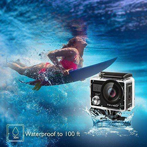 Akaso Brave 4 4K 20Mp Wifi Action Camera Sony Sensor Ultra Hd With Eis 30M Underwater Waterproof Camera Remote Sports Camcorder With 2 Batteries And Helmet Accessories Kit: - Shop MIXXCI