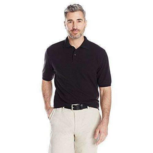 Amazon Essentials Men'S Regular-Fit Cotton Pique Polo Shirt: Mens Shirts- Shop MIXXCI