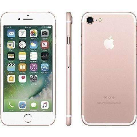 Apple Iphone 7 T-Mobile 32 Gb (Rose Gold) Locked To T-Mobile: Cell Phones- Shop MIXXCI