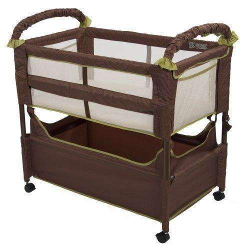 Arm'S Reach Concepts Clear-Vue Cocoa/Fern: Bassinet- Shop MIXXCI