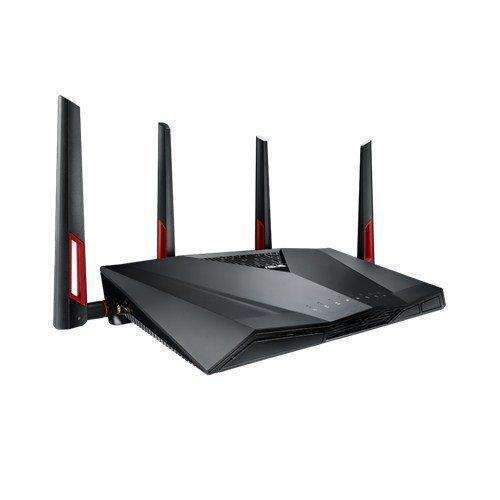 Asus Ac3100 Wifi Dual-Band Gigabit Wireless Router With 4X4 Mu-Mimo,8X Gigabit Lan Ports, Aiprotection Network Security And Wtfast Game Accelerator,Aimesh Whole Home Wifi System Compatible (Rt-Ac88U): - Shop MIXXCI