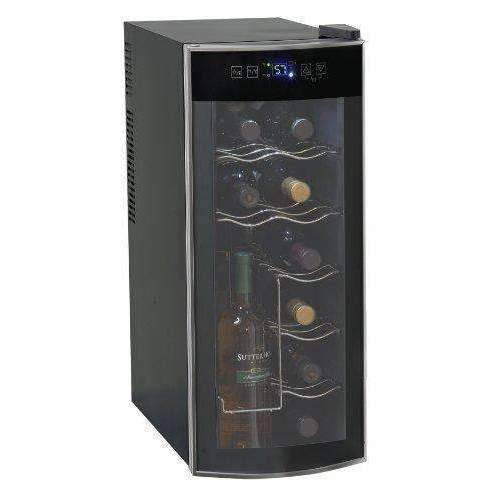 Avanti 12 Bottle Thermoelectric Counter Top Wine Cooler - Model Ewc1201: Appliances- Shop MIXXCI