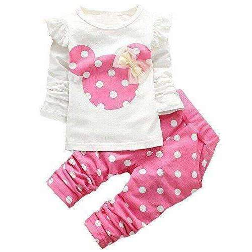 Avidqueen Cute Toddler Baby Girls Clothes Set Long Sleeve T-Shirt And Pants Kids 2Pcs Outfits: Girls Clothing- Shop MIXXCI